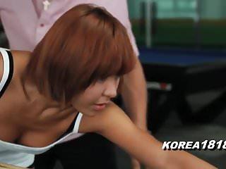 KOREA1818.COM – Korean Slut MILF FUCKED at Pool Hall