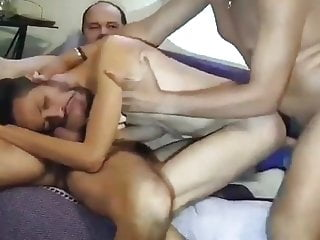 My daddy man offers my ass to his black dom friend