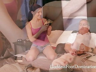 Babysitters Leverage Footjob Foot Domination