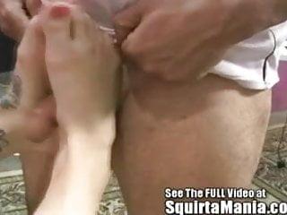 Porn Star Ally Ann's Squirt Alley!