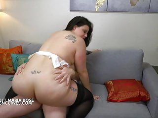 Sexy Spanish BBW colossal boobs whore bangs her stepdad