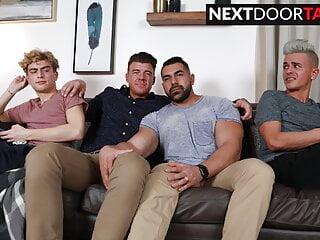 NextDoorTaboo: Stepson Swap: Twinks Get To Know New Stepdads