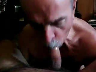 Sucking a cock...