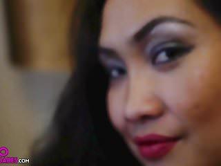 Amy Latina Bedroom Jiggles big tits Miss Pinay Asian Babe