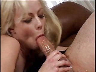 Blond milf blowjob...