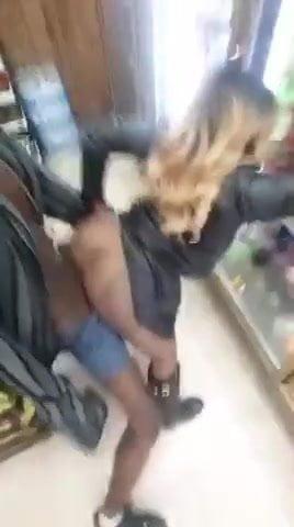 Ebony Couple Fucking Work