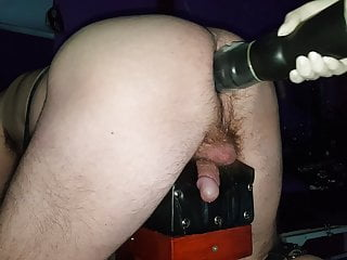 Mega big Fuck toy in Anus