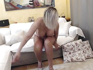 Sexy Mature Blonde With Fine Body