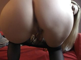at home in nice stockings and high heelsPorn Videos