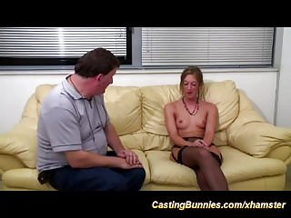 Anal casting...