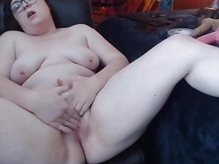 Perverted bbw ember with tiny tits cum...
