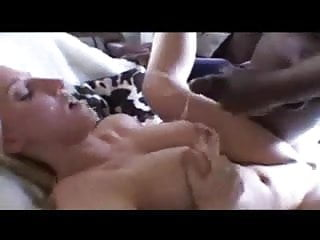 Interracial Scenes and Cumshots