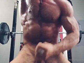 Phil Workout & jerk off ( no cum )