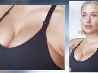 Lena gercke pregnant boobs...