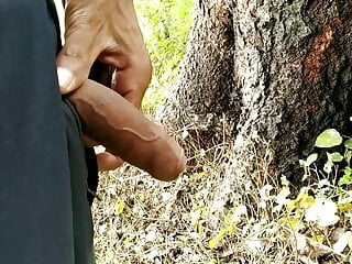 Indian boy playing with cock, pissing