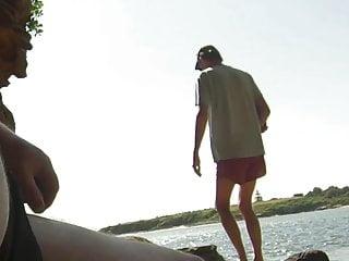 Beach wank 001...