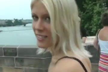Hot Girl Strips In Public
