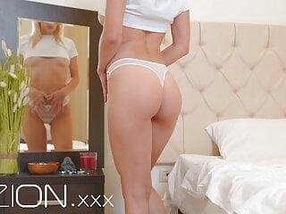 VIZION - Julia Rain Changes Lingerie and Masturbates - Promo