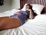 Tattooed Cutie Liandra Dahl Masturbating