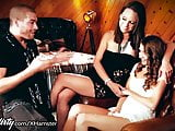 Virgin Step-sisters 3Way with Rockstar