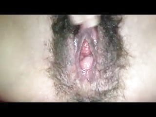 Juicy and very hairy...