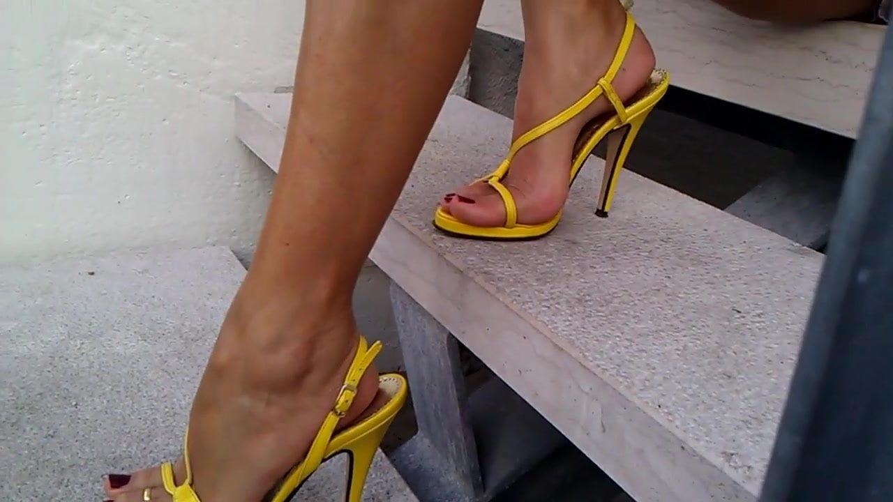 Asian Insert Heels Porn new heel - girl masturbating, high heels, masturbation