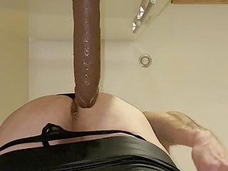 riding my bbc dildo  deep HD Sex Videos