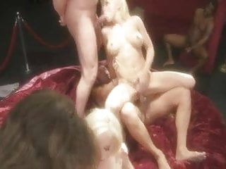 Sweet hillary and a friend anal orgy...