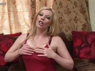 Hot milf getting naughty...