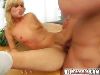 All Internal Sarah gets cumshots injected deep inside her