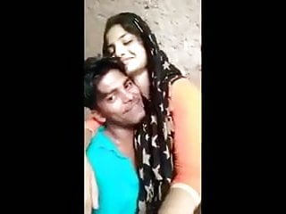 Indian student student girlfriend vs BF, sweltering kissing