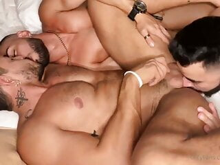 Alejo Ospina fucked by friends