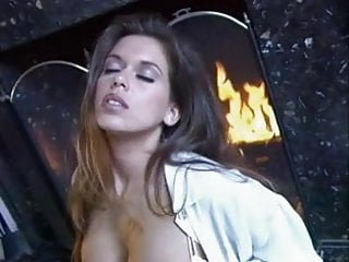 British MILF Nici Stirling gets fucked in front of the fire