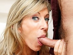 French Fur Covered Old Cougar Marina Beaulieu Climax Anal