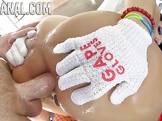 True anal stuffing valentina jewels ass...