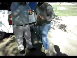 Chubby cowboy goes nasty after couple of beers