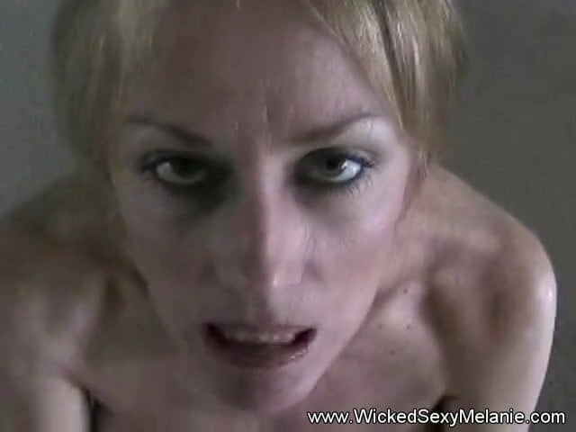 Blonde Babe Swallows Cum