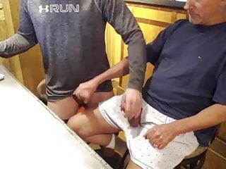 Two Daddies Playing
