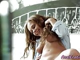 Assfucked beauty gets banged in both holes