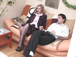 Russian Stockings Blonde video: OLGA SEX