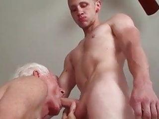 Old man fucks twink