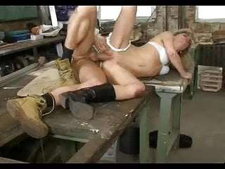 Blonde fucked then fist