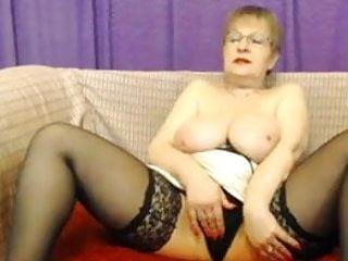Mature rita milf show soft boobs play 2...