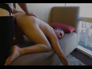 Pegging My Boy's Pussy with Mr Hankeys Latin Lover
