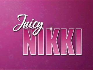 Juicynikki takes nice thick bbc an swallows...