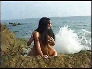 Tender girl girl love beach fm 14...