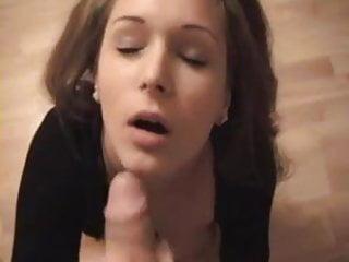 Girlfriend takes facial