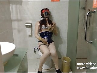 Latex Masturbation Gagging Crossdress and