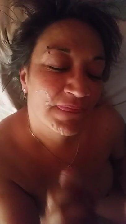 Asian Amateur Facial Cumshot