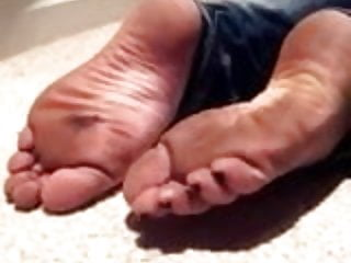 Soles in and out of flip flops